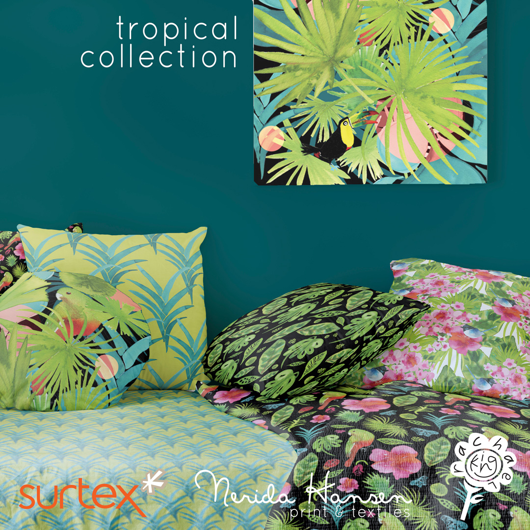 Rachaelking_surtex17_tropical-daybedv2_instaadvert